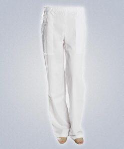 Γυναικείο Παντελόνι Σεφ Λευκό