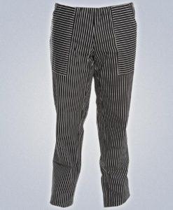 Αντρικό Παντελόνι Σεφ Ριγέ