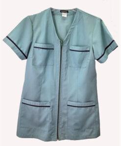 Iατρικη μπλούζα γυναικεια με φερμουάρ-0