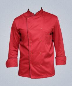 Σακάκι μαγειρικής Μπορντω-0